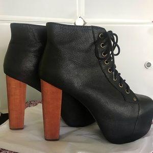 Jeffrey Campbell Lita Platform Lace Up Heels